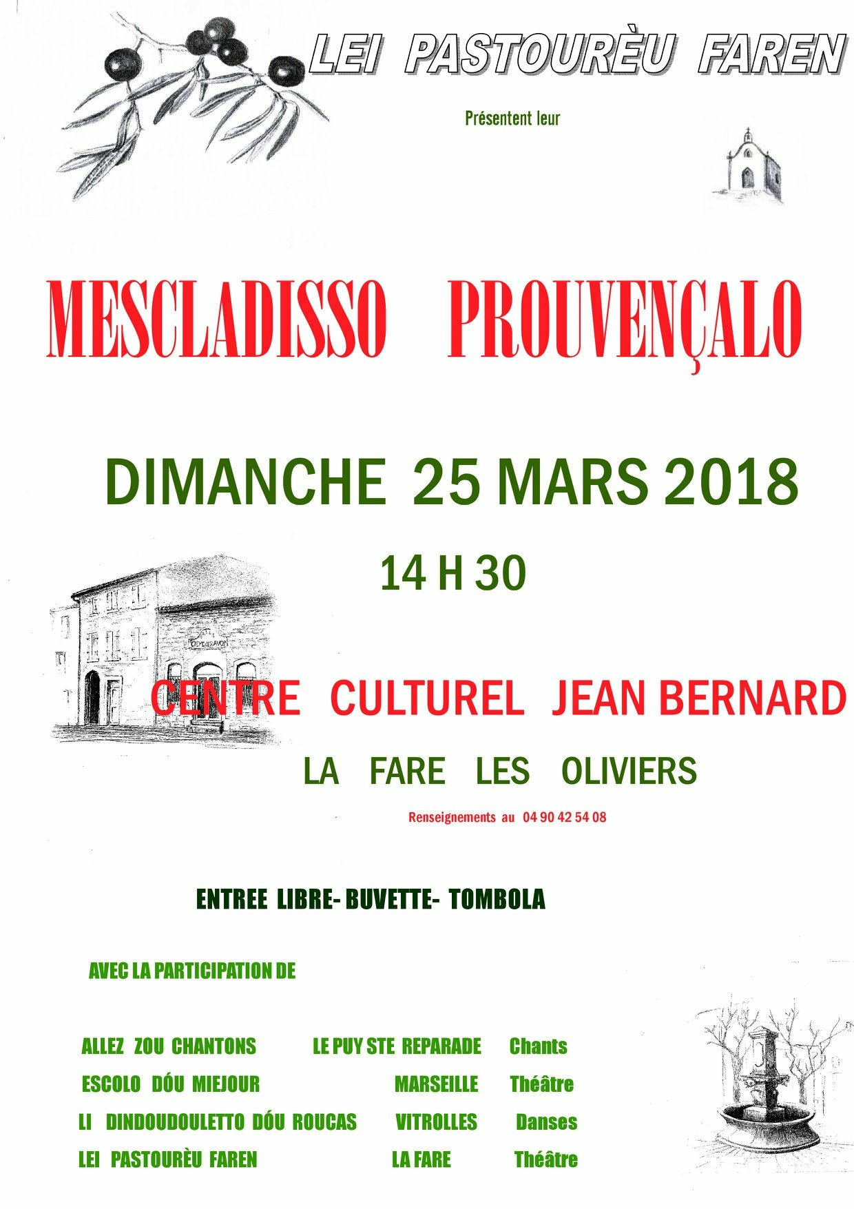 Mescladisso @ Auditorium René Bartoli