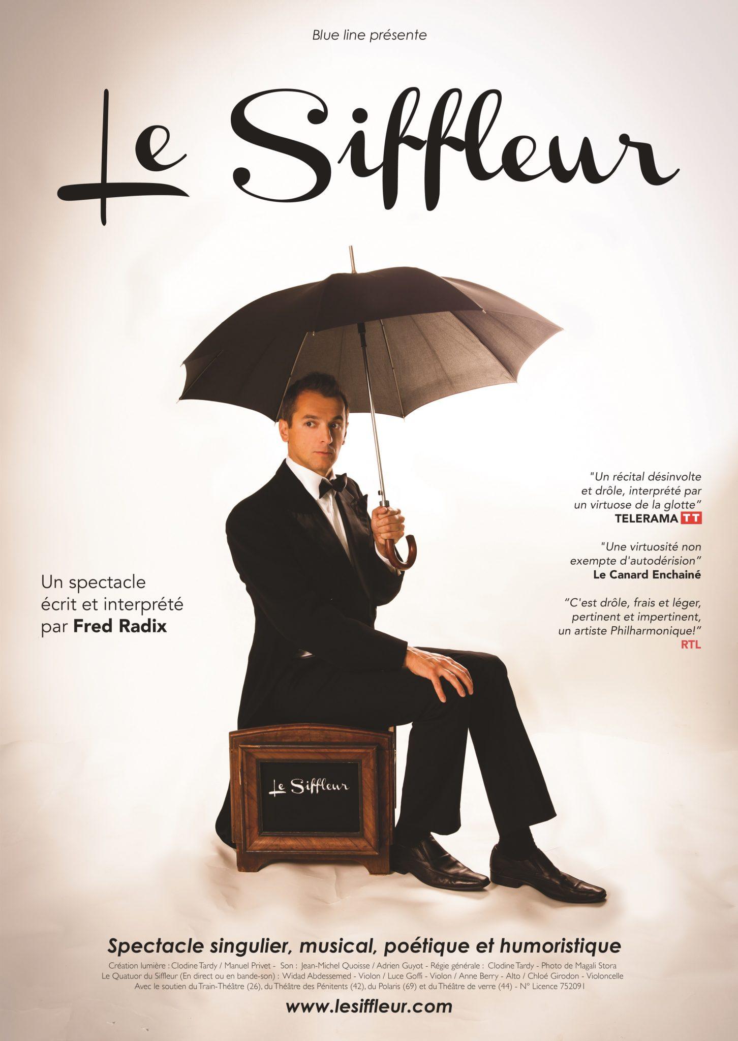 """""""Soirée OMC """"""""Le Siffleur"""" Humour musical @ Auditorium René Bartoli"""