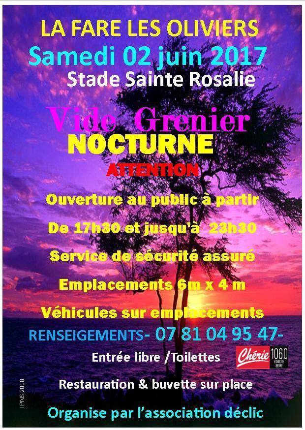 Vide-greniers nocturne @ Site de Sainte Rosalie