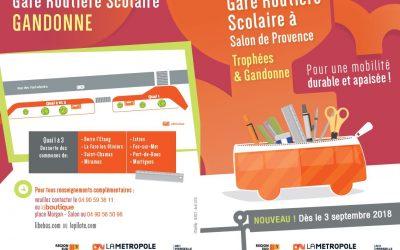 TRANSPORTS SCOLAIRES – NOUVELLE GARE ROUTIÈRE SCOLAIRE SALON DE PROVENCE