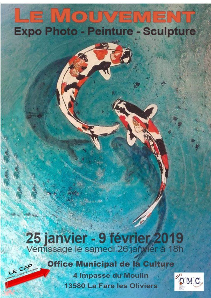 Exposition « le Mouvement » du Collectif Artistique Provence @ Moulin Roustan | La Fare-les-Oliviers | Provence-Alpes-Côte d'Azur | France