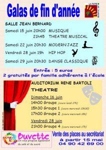 Spectacle de fin d'année de hip-hop de l'école municipale de musique, d'art et de danse @ Ecole municipale de musique, d'art et de danse