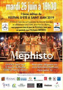 Festival d'été avec l'orchestre Mephisto @ Parc de la maison de retraite Saint Jean