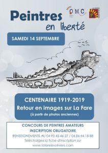 """Concours de peintres """"Peintres en Liberté"""" @ Office Municipal de la Culture - 4 impasse du Moulin"""