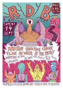 """Festival Rock """"RDB Fest"""" @ Maison des Jeunes"""