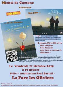 """Projection du film """"Au-delà des Etoiles"""" @ Auditorium René Bartoli"""