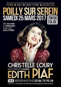 """Soirée OMC avec Christelle Loury """"Revivre l'émotion Edith Piaf"""" @ Auditorium René Bartoli"""
