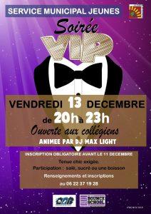Soirée VIP @ Maison des Jeunes