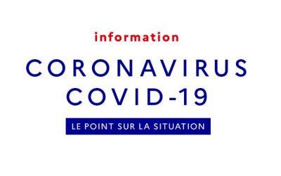 CORONAVIRUS – CONSIGNES POUR LA RENTRÉE DU LUNDI 2 MARS