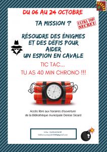 Jeux d'espion @ Bibliothèque municipale Denise Sicard
